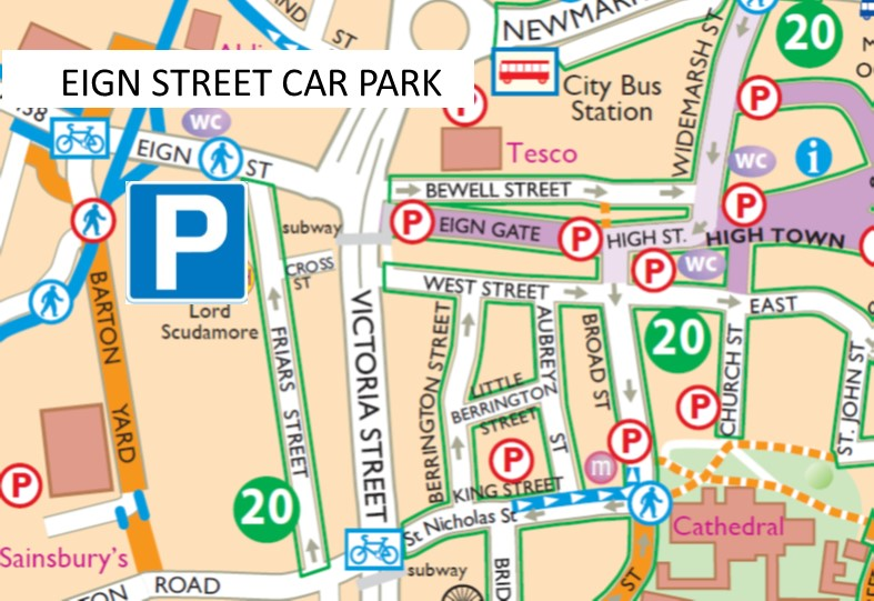 Car Parking Spaces, Hereford, Hereford, Herefordshire, HR4 0AW