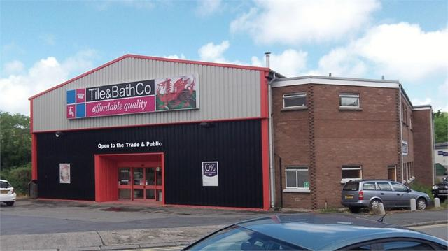 The Tile & Bath Co premises, Magdelene Street, Haverfordwest, Pembrokeshire