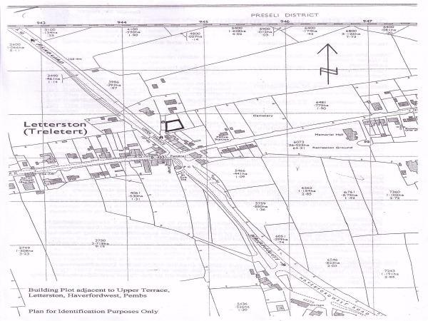 Building Plot adjacent to, Upper Terrace, Letterston, Haverfordwest, Pembrokeshire