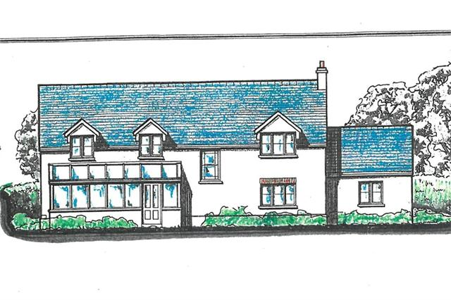 New House  and 4 Acres or thereabouts of Land, Adjacent to Churchfields, Ambleston, Haverfordwest, Pembrokeshire