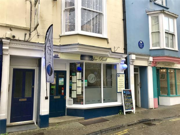 The Blue Ball Restaurant, Upper Frog Street, Tenby, Pembrokeshire
