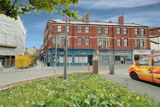 Castle View, Newport City Centre