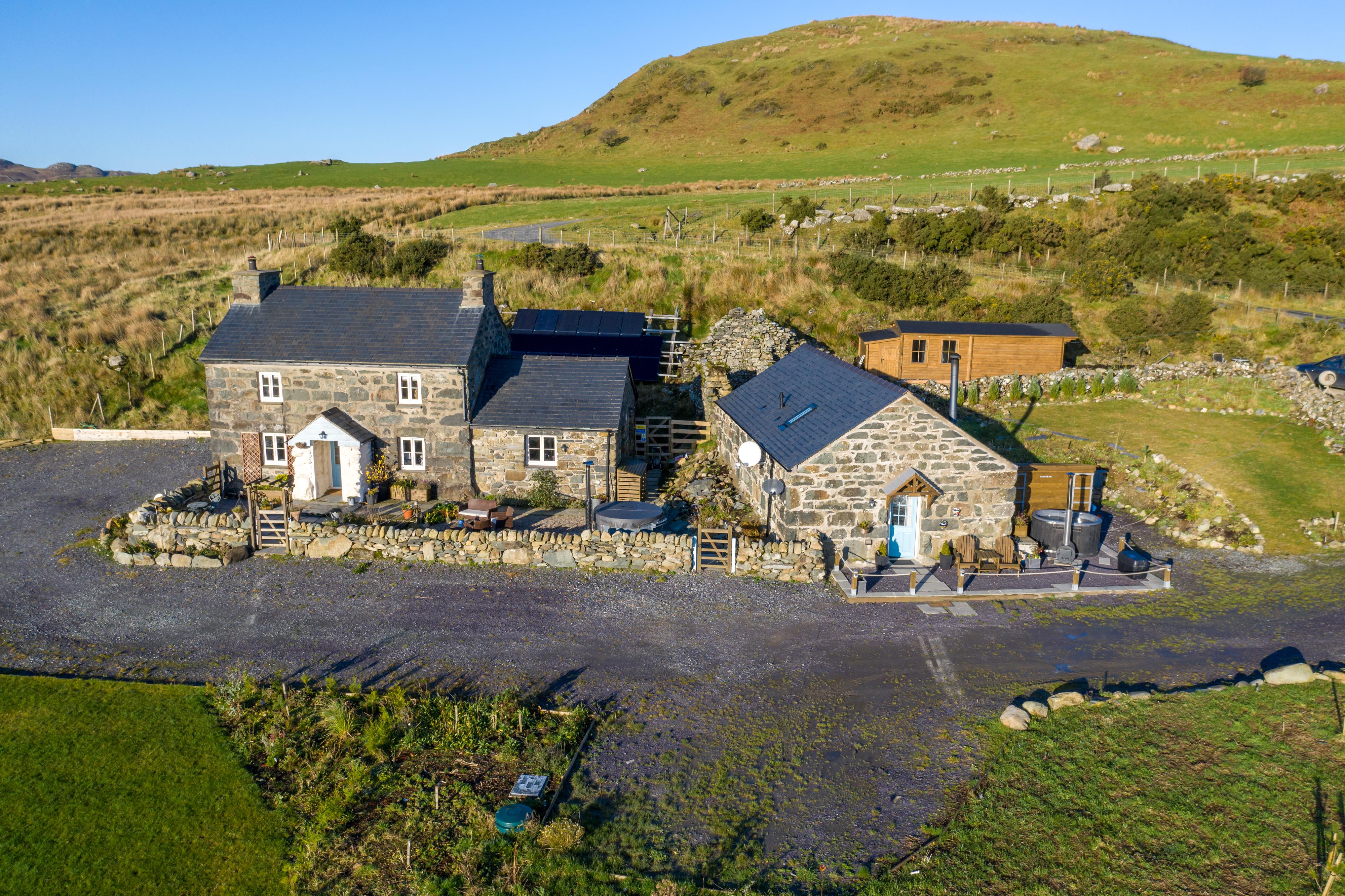 Cwm Pennant, Caernarfon, North Wales