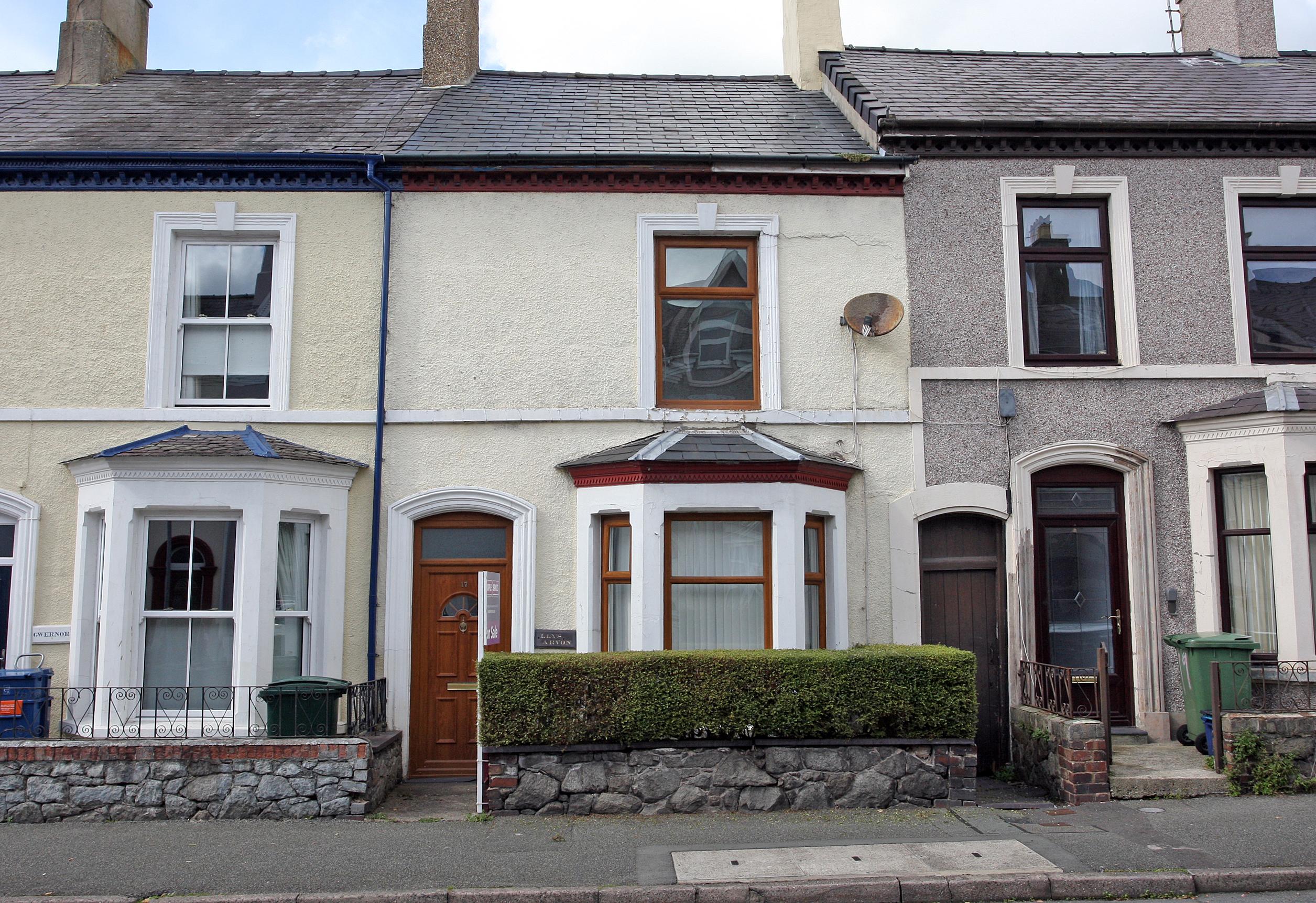 Dinorwic Street, Caernarfon, North Wales