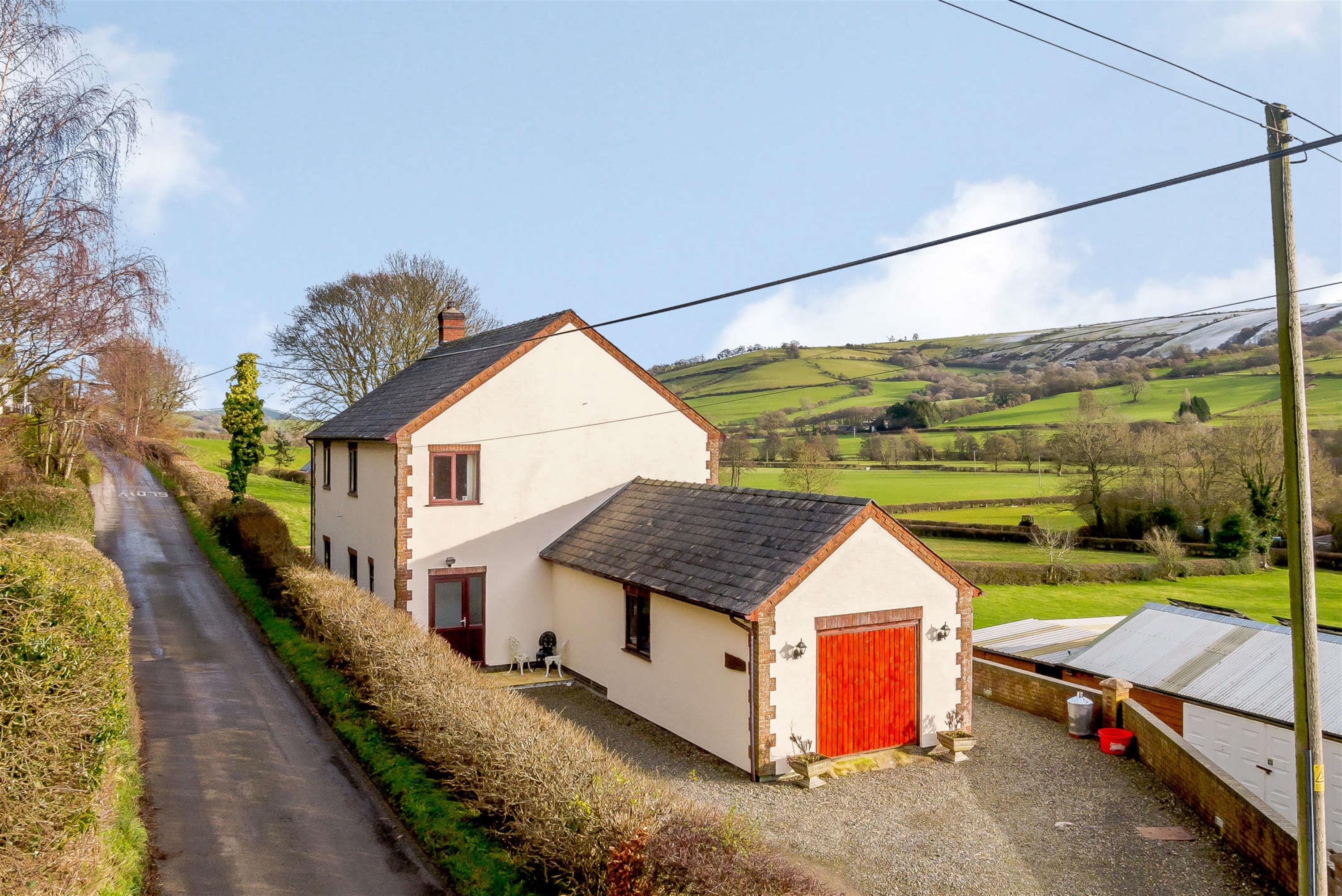 Sparksville, Church Road, Newcastle On Clun, SY7 8QL