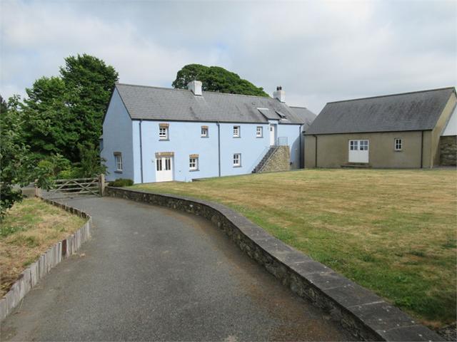 Ysguborwen, (nr Newport), Felindre Farchog, Crymych, Pembrokeshire