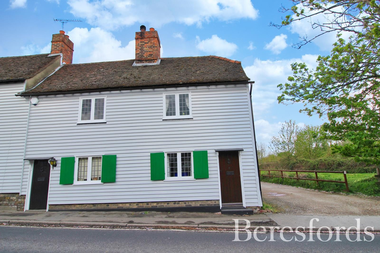 Bear Block Cottages, Harwood Hall Lane, Upminster, Essex, RM14
