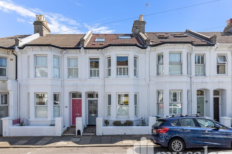 Exeter Street, Brighton, East Sussex. BN1