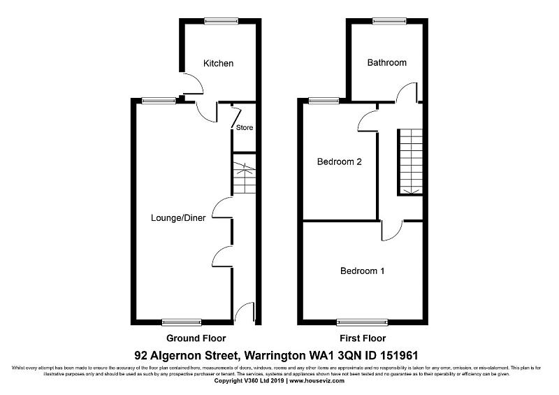 Algernon Street, Warrington, WA1  3QN - ID 151961