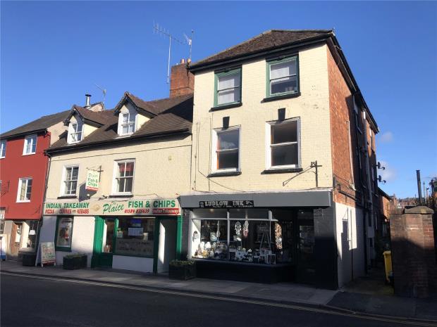 Corve Street, Ludlow, Shropshire