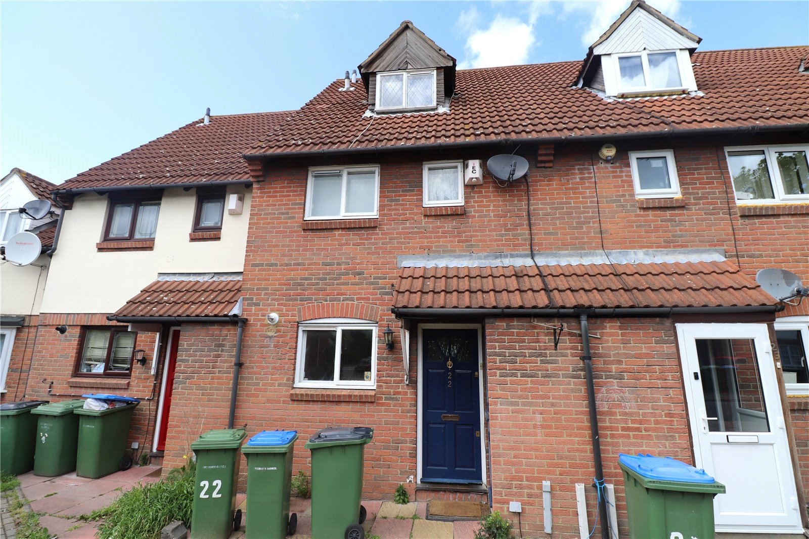 Nickelby Close, Thamesmead, London, SE28