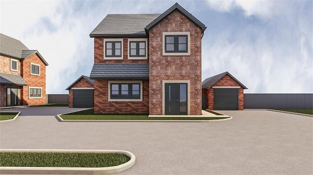 Plot 3 Kates Beck, Parkett Hill, Scotby, Carlisle, Cumbria