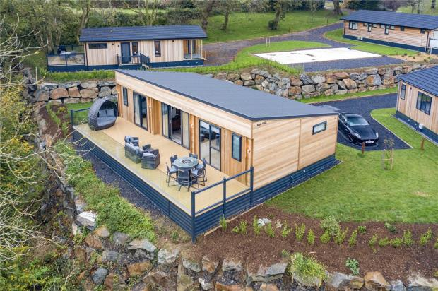 Bohemia Luxury Lodge, Noble Court Holiday Park, Redstone Road, Narberth