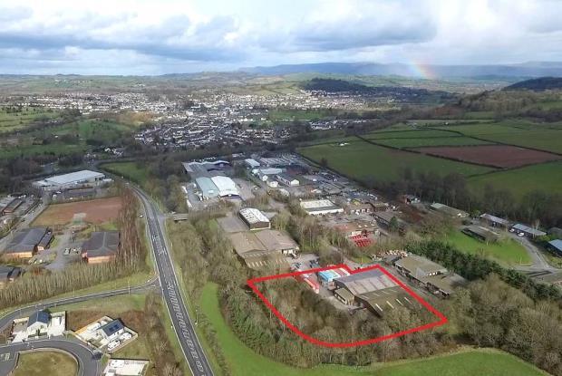 Ffrwdgrech Industrial Estate, Brecon, Powys