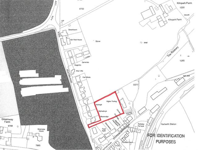 0.8 of an acre or thereabouts at Kiln Park farm, Kiln Park Road, Narberth, Pembrokeshire