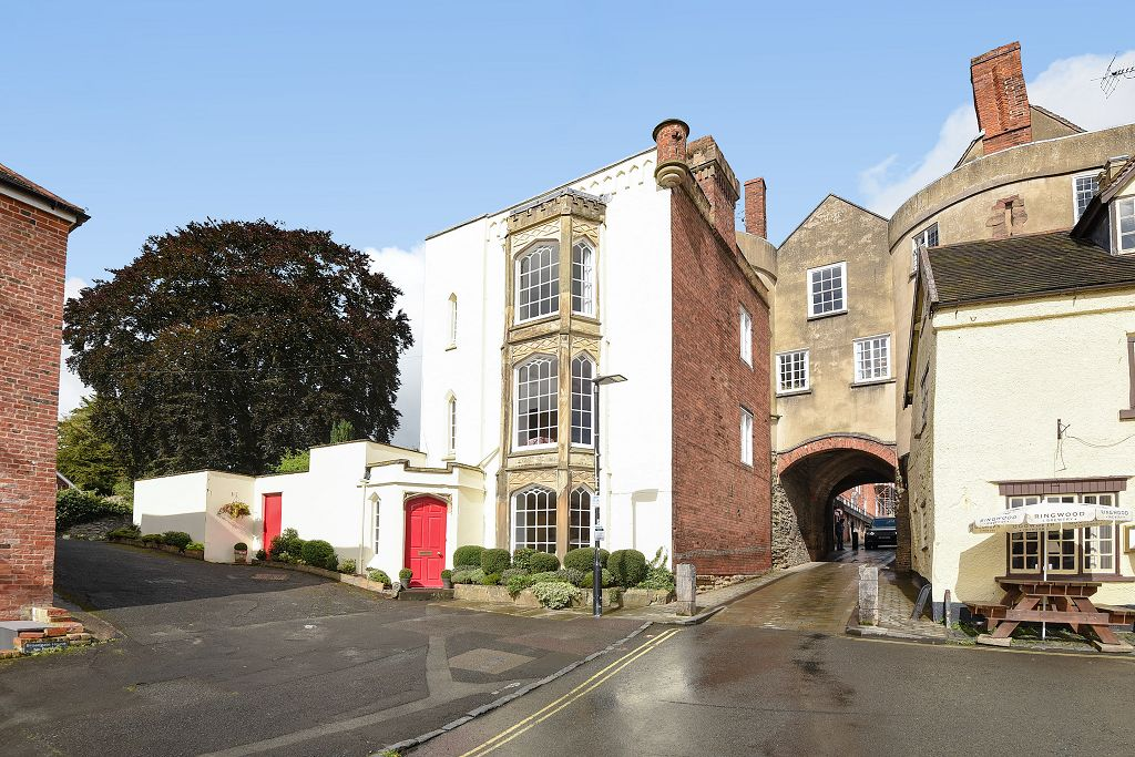 The Gatehouse, Lower Broad Street, Ludlow, Shropshire.