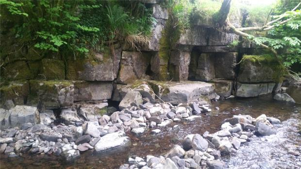 The Five Caves, Ystradfellte, Aberdare, Powys