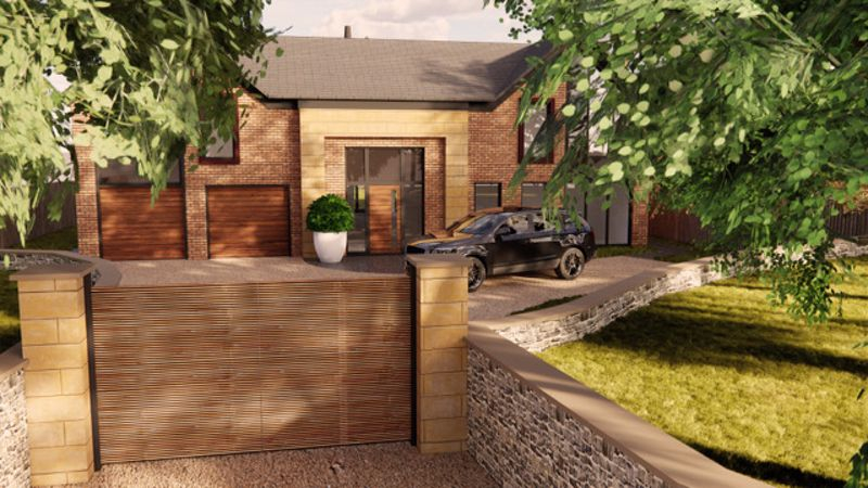 New Build House In Mere