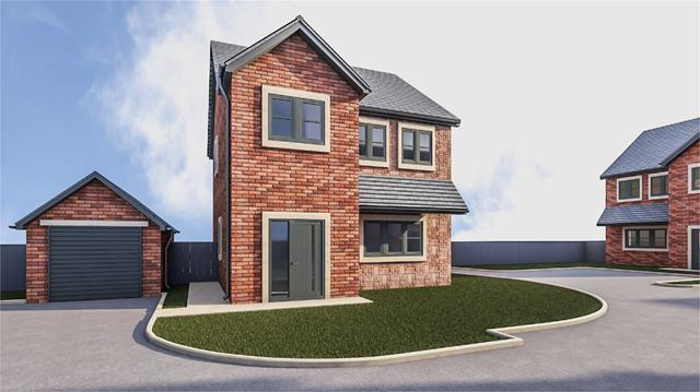 Plot 4 Kates Beck, Parkett Hill, Scotby, Carlisle, Cumbria