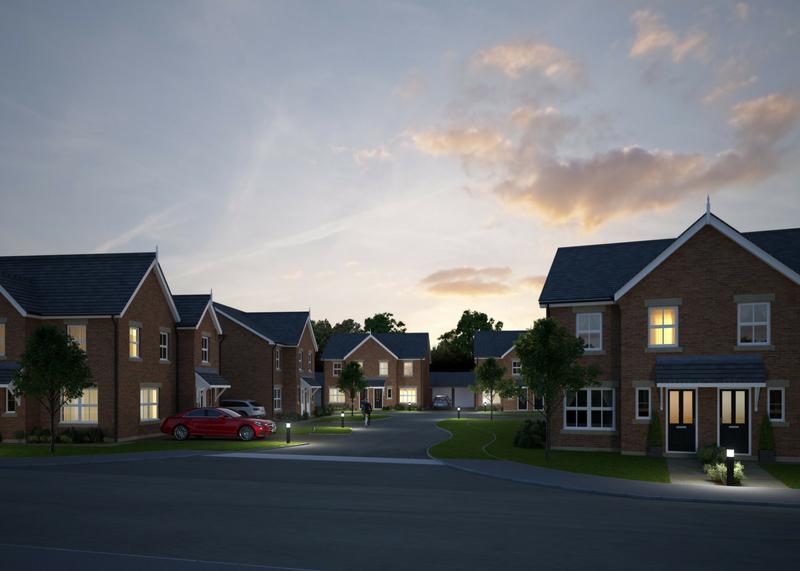 Moss Lane, Leighton, Crewe