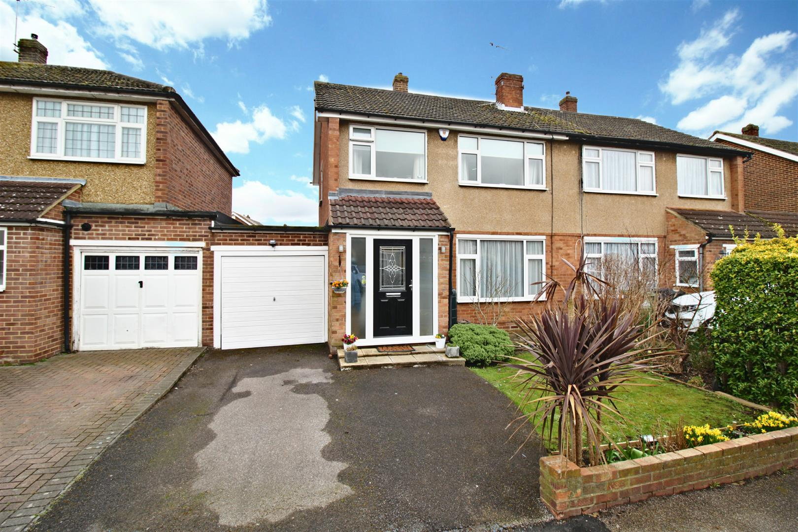 Ashdown Crescent, Cheshunt - Extended 3 Bedroom Semi Detached Within Walking Distance To Cheshunt BR