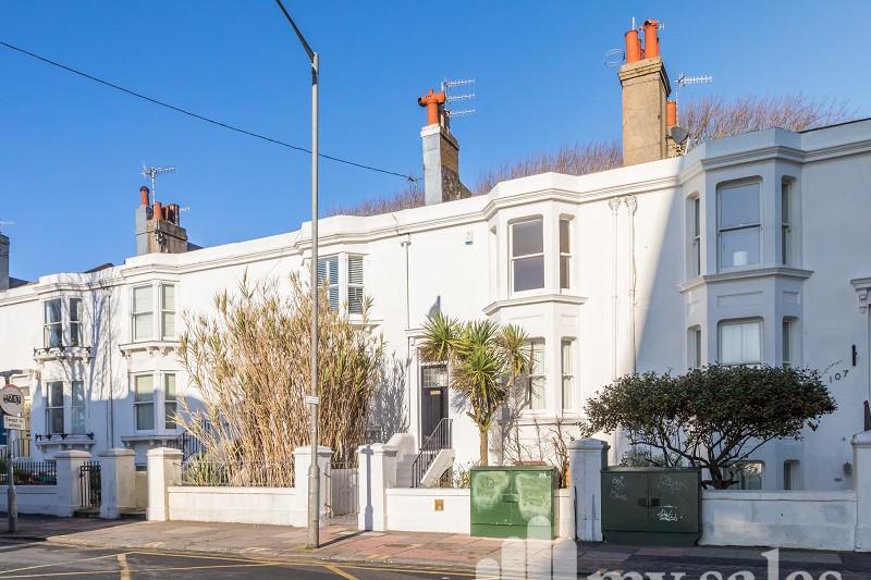 Upper North Street, Brighton, East Sussex. BN1
