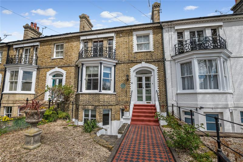 Runwell Terrace, Clifftown Conservation Area, Southend On Sea, SS1