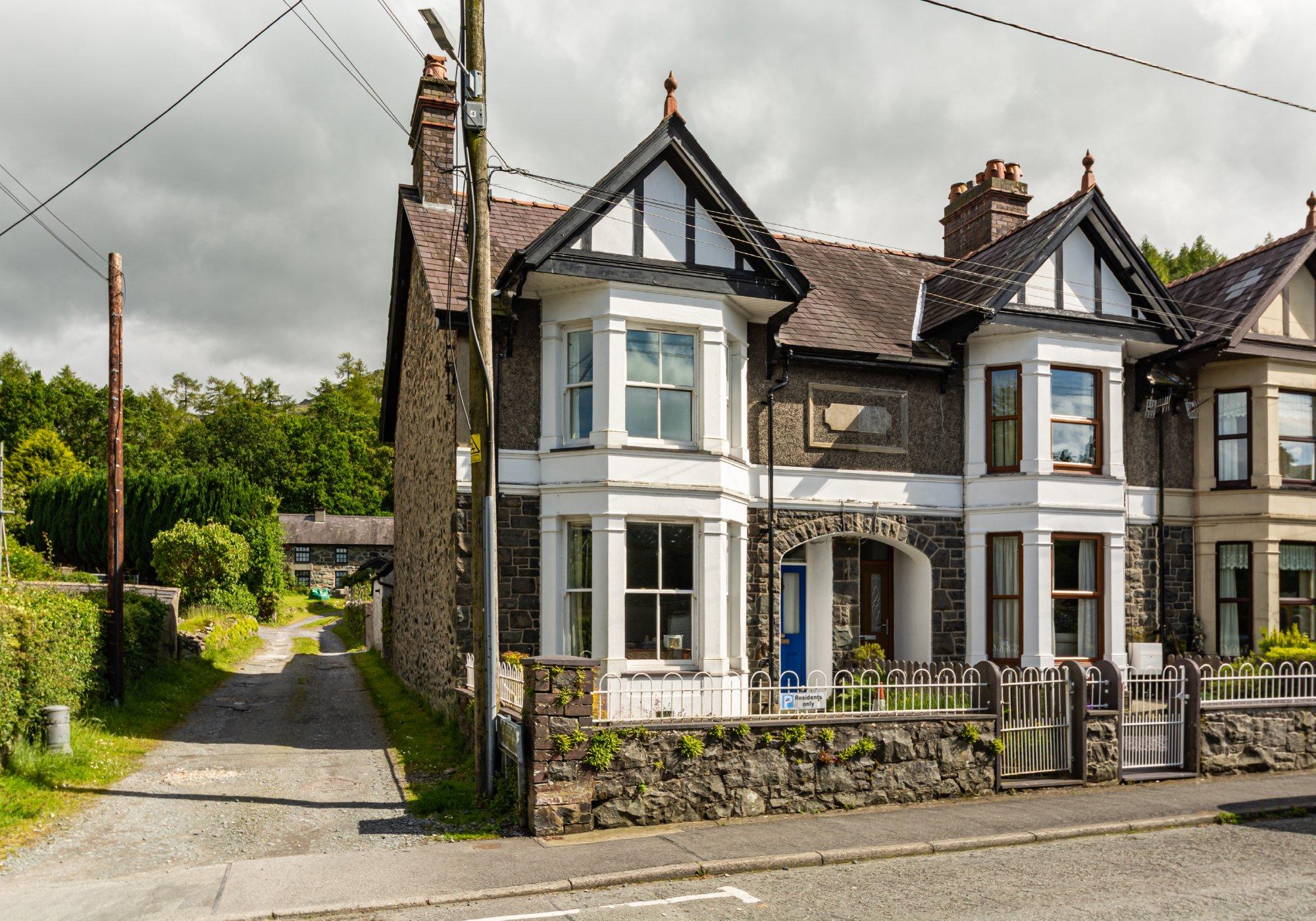York Terrace, Llanberis, North Wales