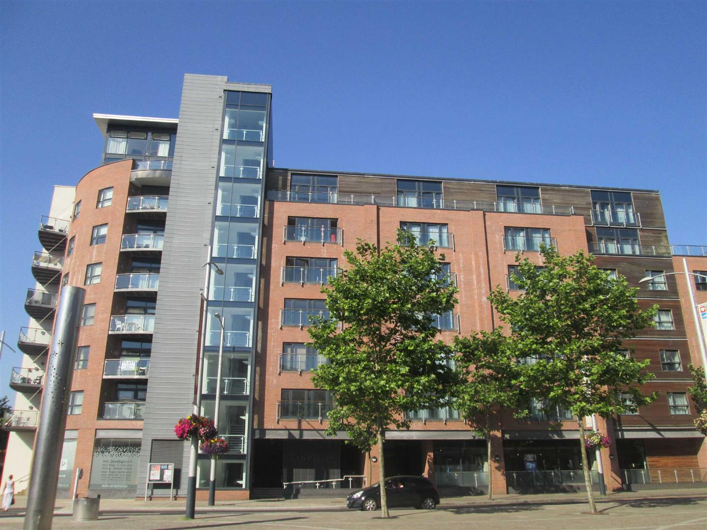 Excelsior Apartments, Swansea