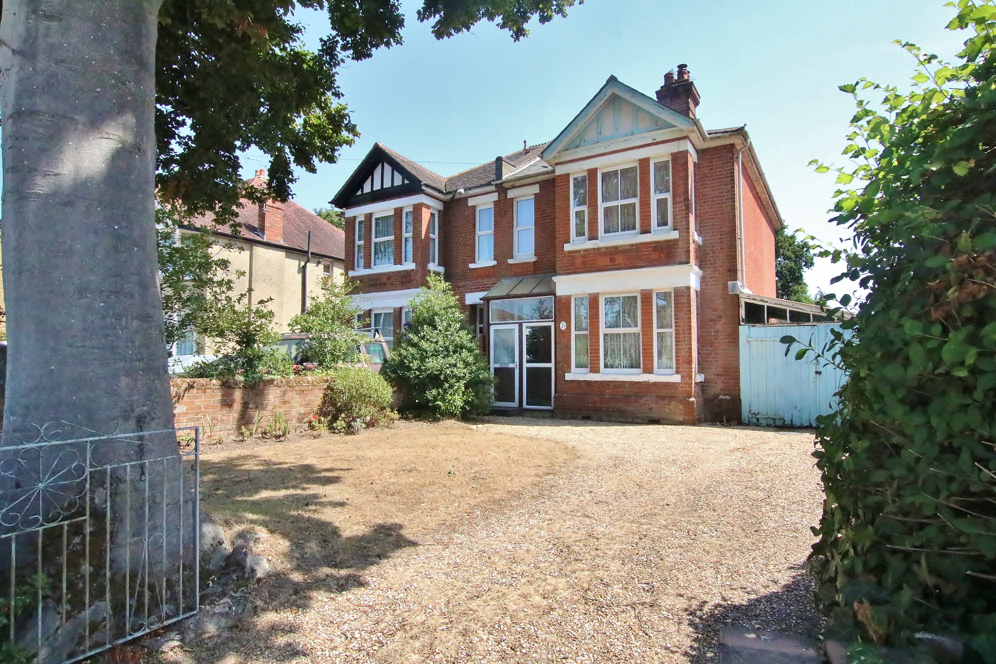 Substantial four bed, three reception room, semi detached property.