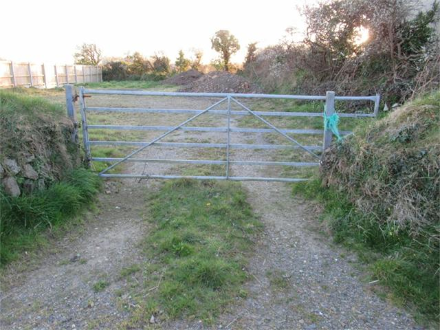 Plot formerly part of Delfryn, Stop and Call, Goodwick, Pembrokeshire