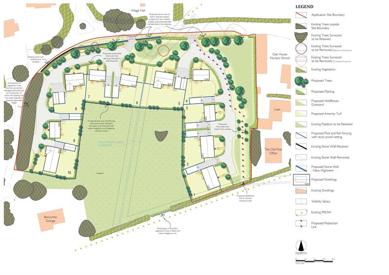 Development Land, South Of Church Road, Brampton Abbotts, Ross On Wye, Herefords