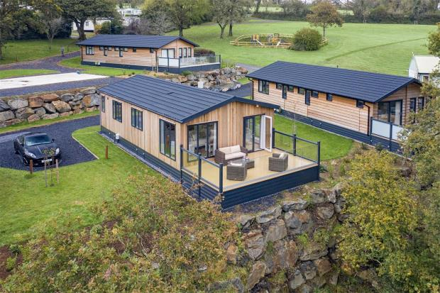 Burleigh Luxury Lodge, Noble Court Holiday Park, Redstone Road, Narberth